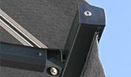 Standard frontprofil med kappa.